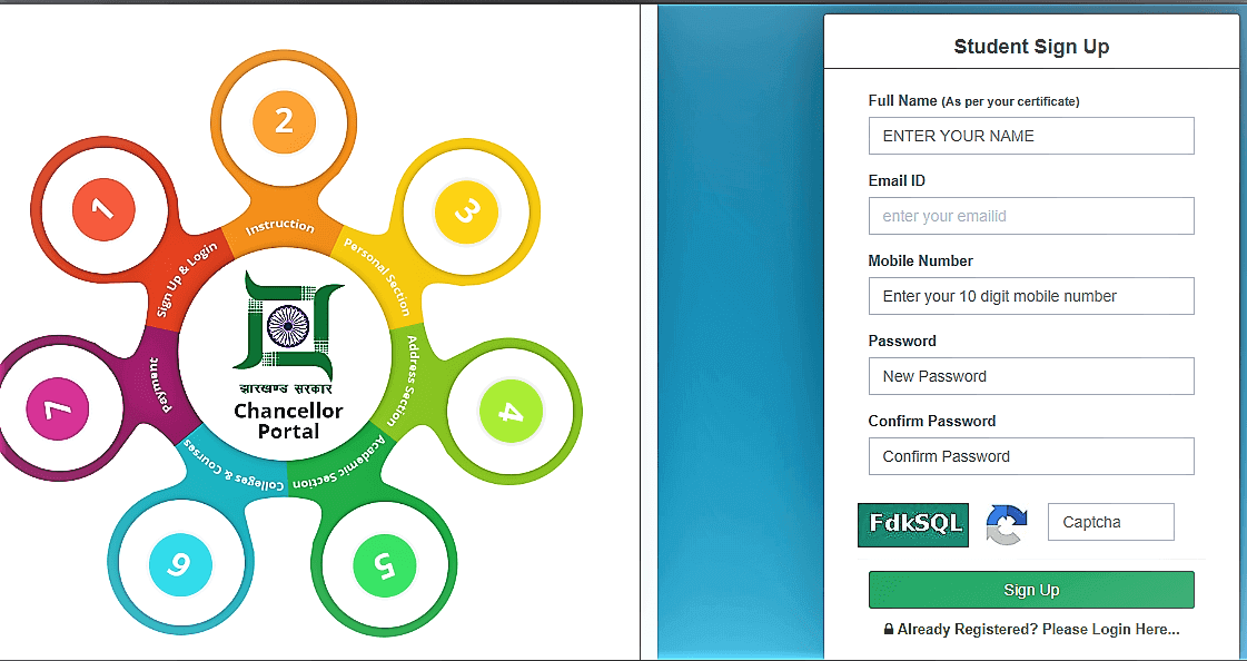 Chancellor Portal Admission Notification