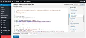 website create a desktop version view on phone