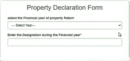 Intraharyana Property Return