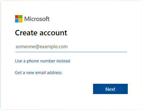 how to sign up on microsoft and get backlinks