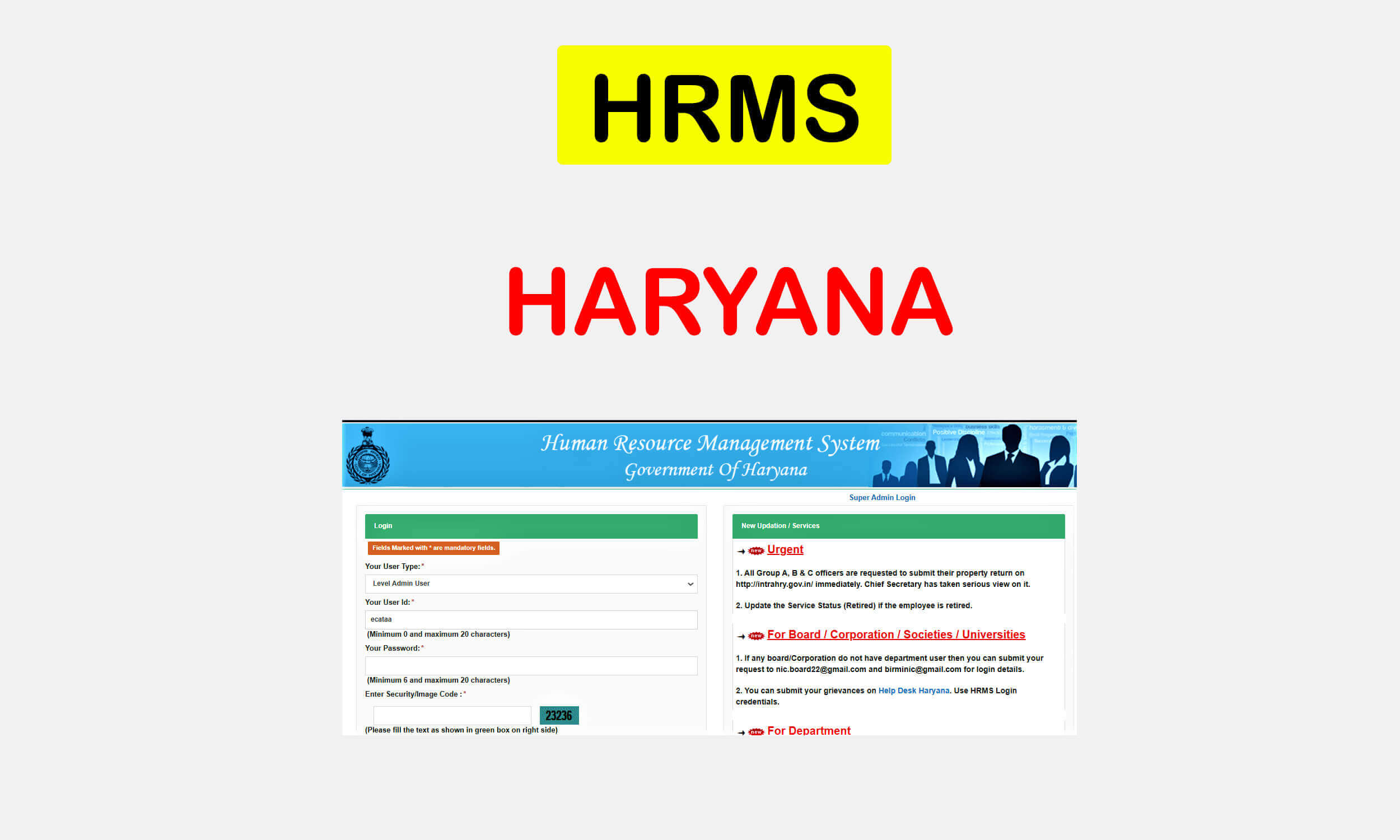 hrms haryana