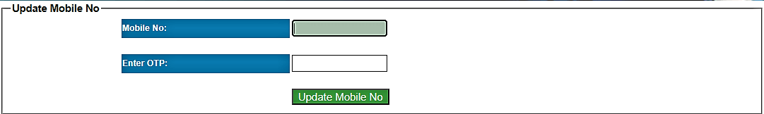 Mobile Number Update on E kalyan Jharkhand