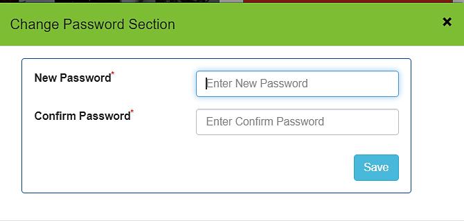 Chancellor Portal forget password reset