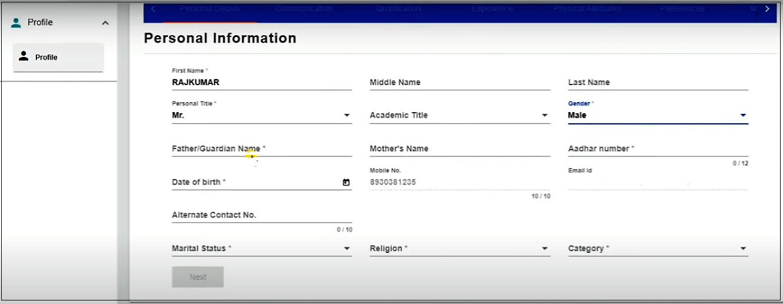Haryana rojgar mela registration and login