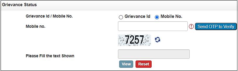 Jansuchna Portal Rajasthan Complaint Status Check