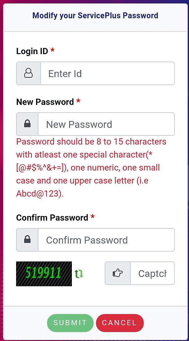 Jharsewa Forget Password Reset