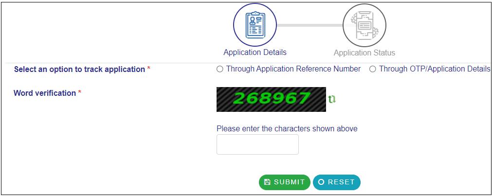 RTPS Bihar Status Check